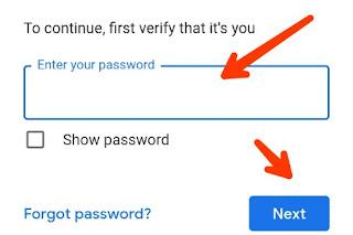 google account ka password kaise change kare