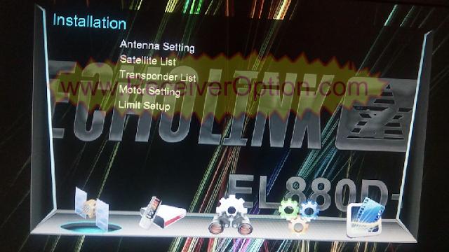ECHOLINK 880D+ HD RECEIVER TEN SPORTS POWERVU KEY NEW SOFTWARE