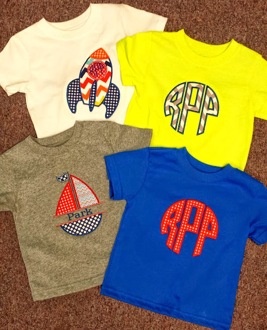 A Lettered Life: Monogram Monday...so much customer cuteness