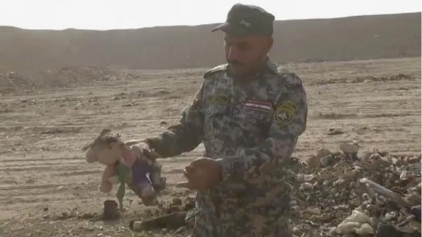 Fosa común en Iraq
