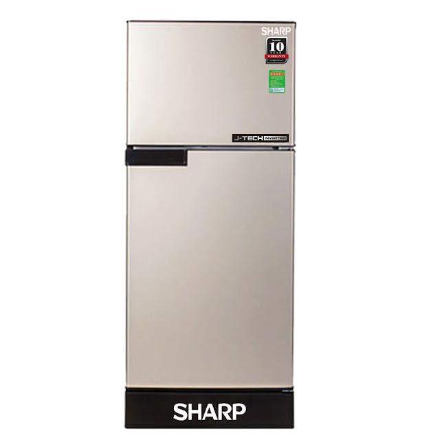Tủ lạnh Sharp Inverter 180 lít SJ-X196E-CS