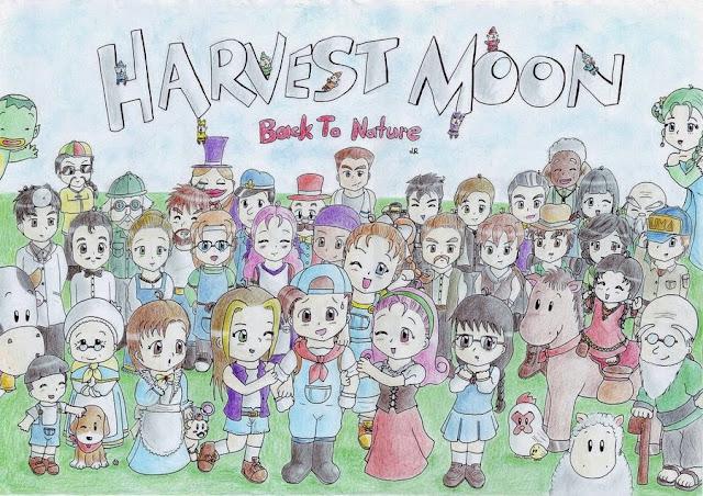 Biodata Semua Karakter Harvest Moon Back to Nature