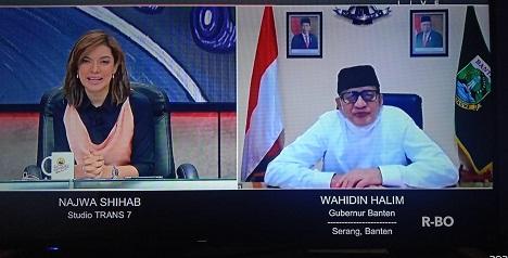 Gubernur WH: Kebijakan Larangan Mudik, Wisata Banten Jadi Pilihan