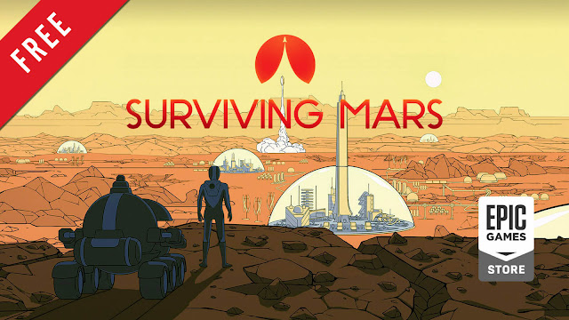 surviving mars free pc epic games store haemimont games paradox interactive 2018 city building simulator game