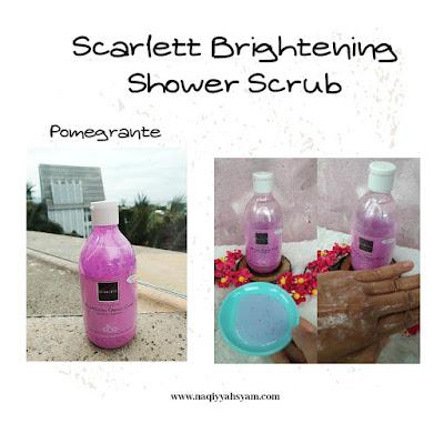 scarlett-brightenin- shower-scrub-pomegrante
