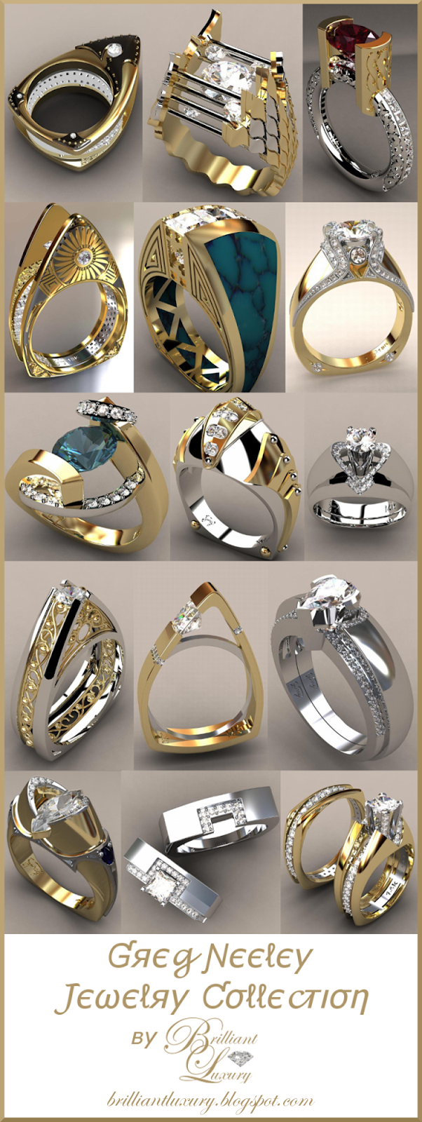 Brilliant Luxury ♦ Greg Neeley Jewelry Collection