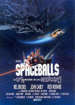 La loca historia de las galaxias, Spaceballs, Mel Brooks