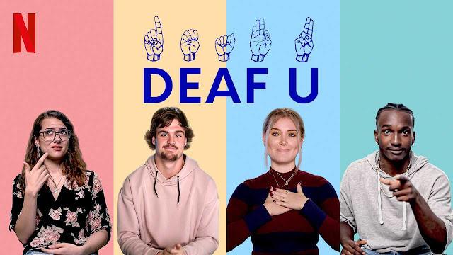 Deaf U, cuatro personas, dos chicas y dos chicos