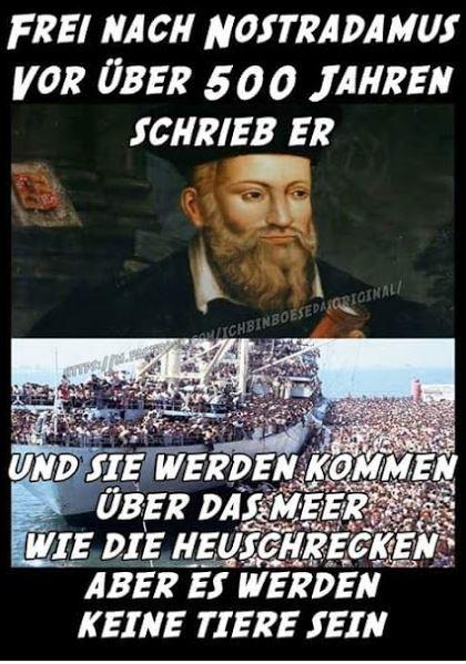 Nostradamus Heuschrecken Meer