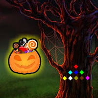 WowEscape-Halloween Candy Forest Escape