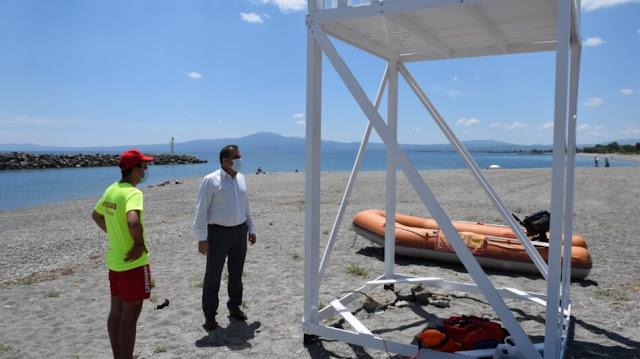 12 ναυαγοσωστικά παρατηρητήρια στις παραλίες του δήμου Καλαμάτας