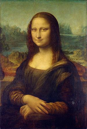 لوحة الموناليزا الأصلية