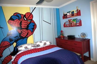 warna cat kamar tidur anak laki-laki terbaru