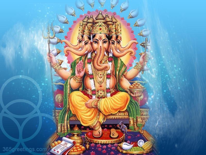 3d Diwali Live Wallpaper Hare Krishna Shri Ganesh Wallpaper 9