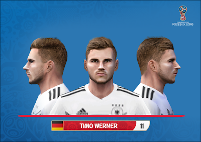 PES 6 Faces Timo Werner by Alegor