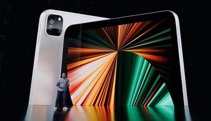 iPad Pro 2021 chip M1 màn hình