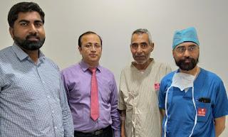 मैट्रो अस्पताल के डाक्टरों ने जटिल सर्जरी करके निकाला दिल तक पहुंचा गुर्दे का कैंसर