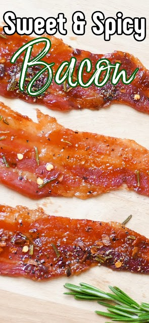 bacon photo with text for pinterest.