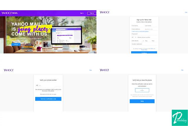 Cara Membuat Yahoo Mail Lewat PC