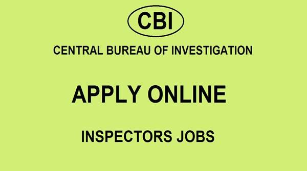 CBI Recruitment 2019