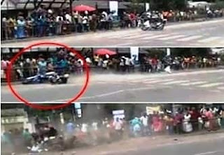 Motor Cycle Racing Accident Nuwara Eliya