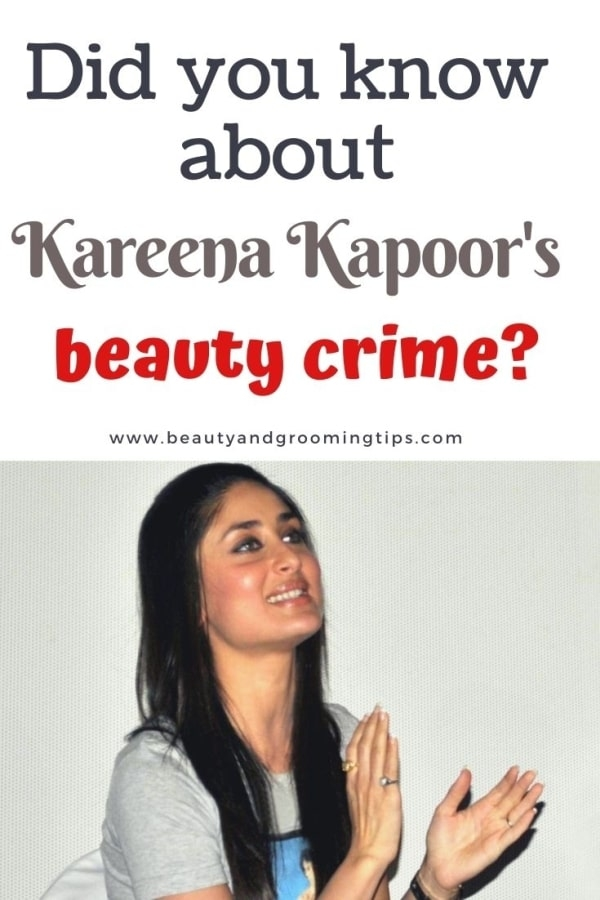 kareena Kapoor's bad beauty habit - kareena clapping