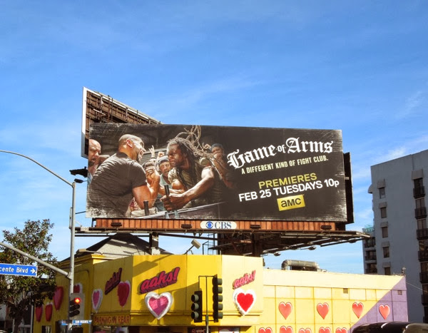 Game of Arms season 1 billboard