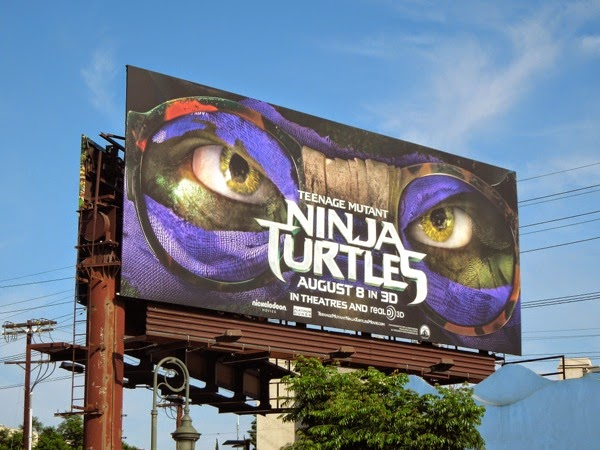 Teenage Mutant Ninja Turtles Donatelllo mask billboard