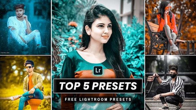 Top 5 Lightroom Mobile Presets  Saha Social Lightroom Presets