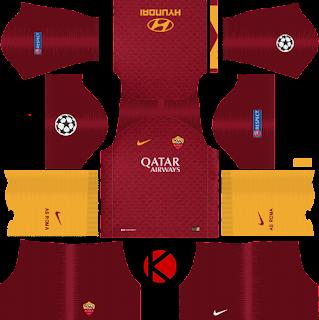 as-roma-nike-kits-2018-19-dream-league-soccer-%2528home%2529-ucl