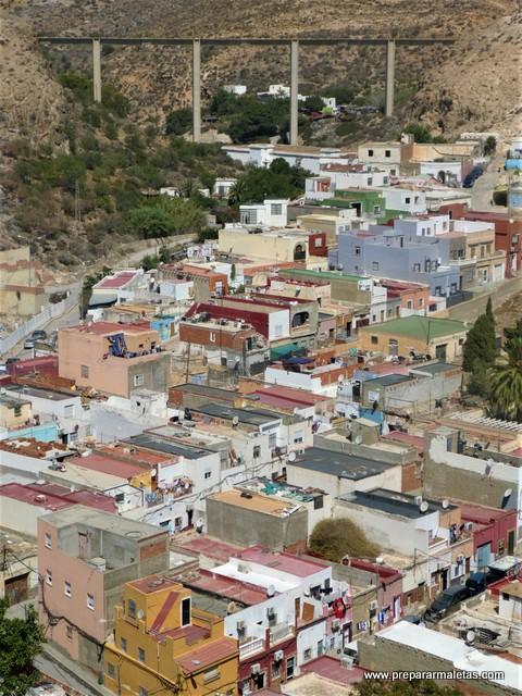 vistas desde la Alcazaba de Almería