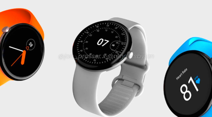 Google Pixel Watch with Round Design and wear os Support leaked Specs Features