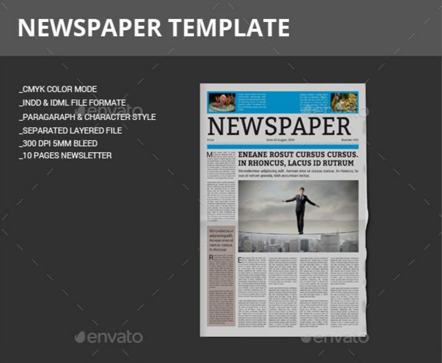 Photoshop Newspaper Template 28 Images 30 Newspaper Textures