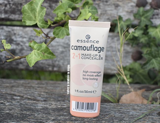 Camouflage 2in1 Make-up & Concealer de Essence