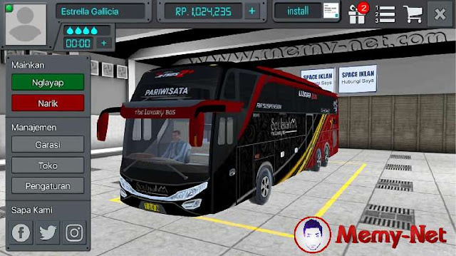 Download Bus Simulator Indonesia (MOD, Unlimited Money) free on android