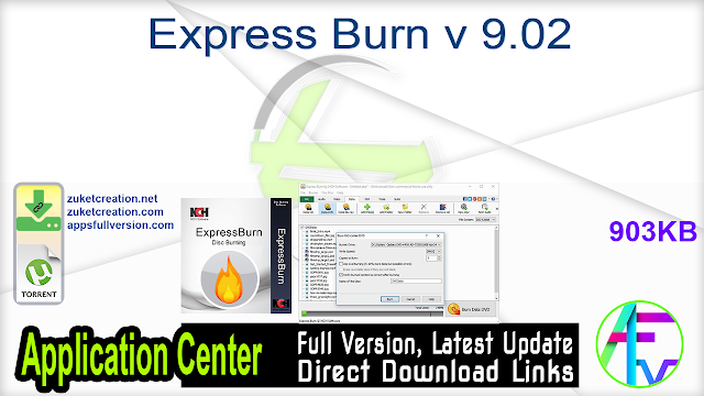 Express Burn v 9.02