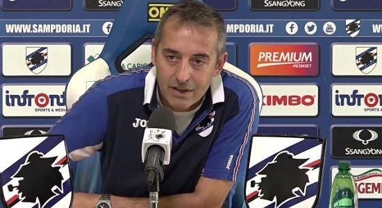 """Giampaolo conferenza Roma Samp:"""" Muriel gioca, non ci rinuncio. Spalletti è un amico. Turn over? non credo ci sia bisogno"""""""