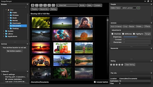 Screenshot ImageRanger Pro 1.6.3.1381 Full Version