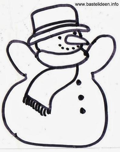 Ausmalen Schneemann Malvorlagen