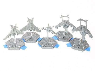 Unpainted Imperial fliers.