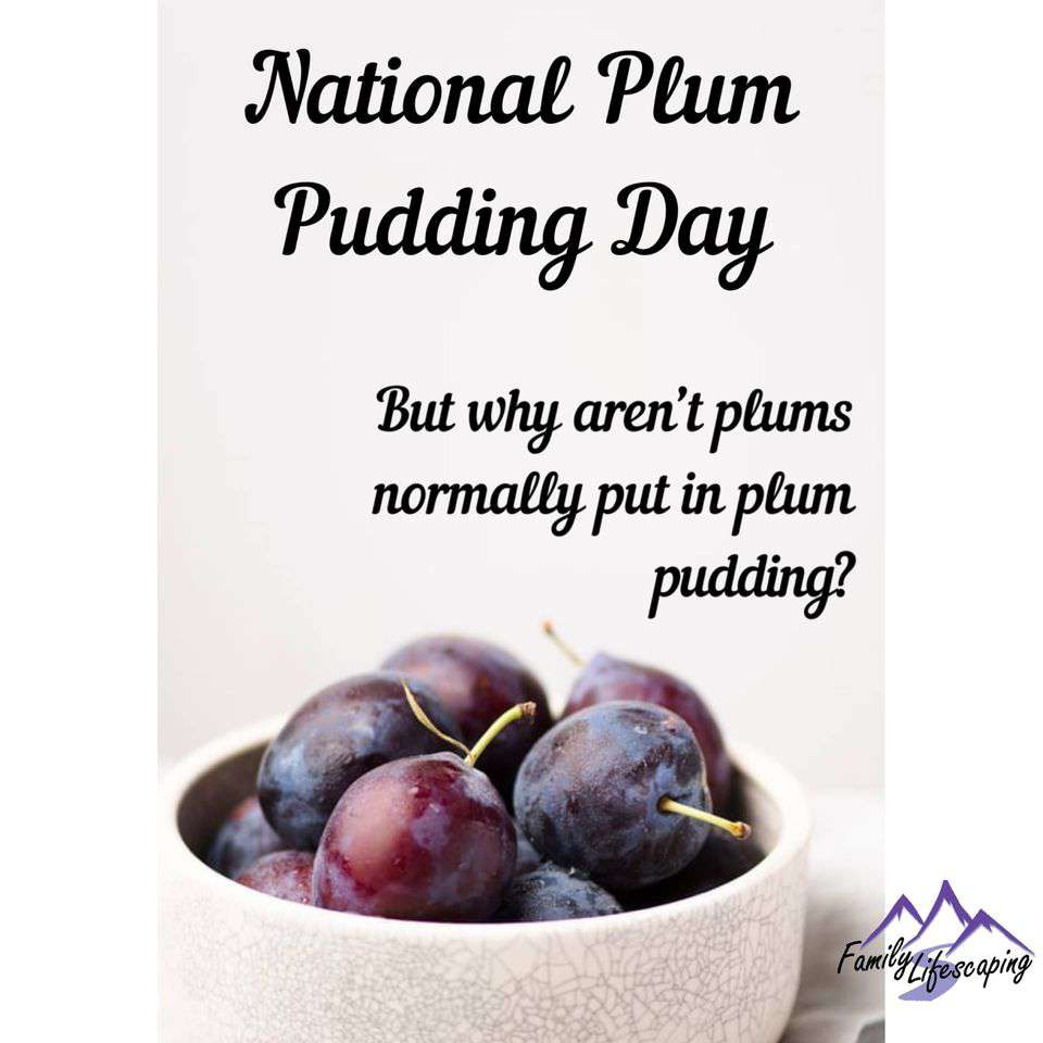 National Plum Pudding Day Wishes Images download