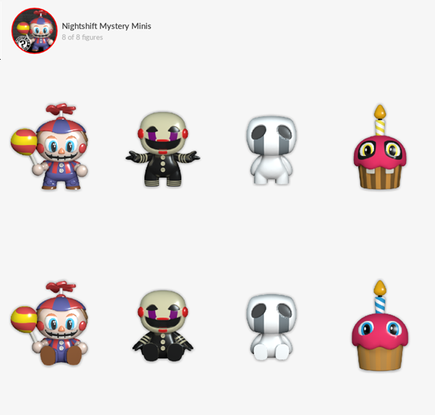 Tiny Toy Shelf: Five Nights at Freddy's Mystery Minis - Quidd