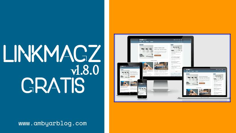 Template LinkMagz versi 1.8.0 Gratis