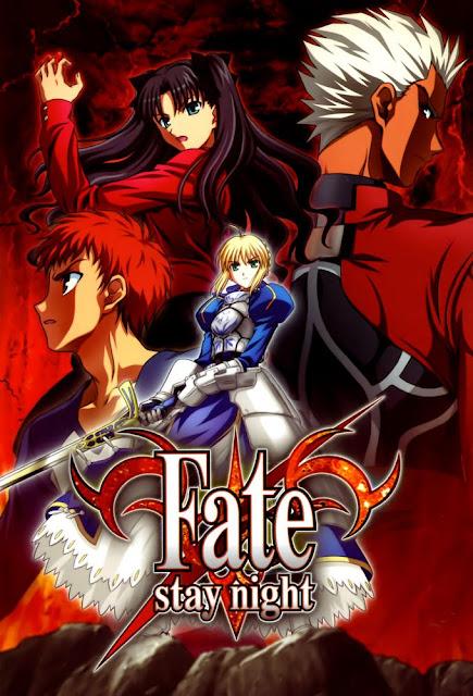 Fate Stay Night animé à voir sur Netflix