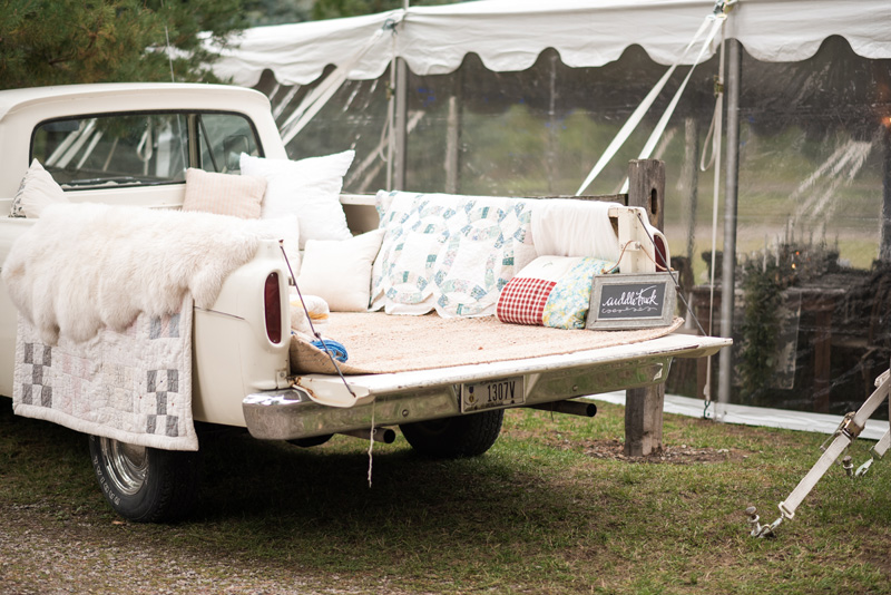 Truck / Montana / Photography: Kelly Kirksey Photography / Planner: Tanya Gersh Events / Florist: Mum's Flowers