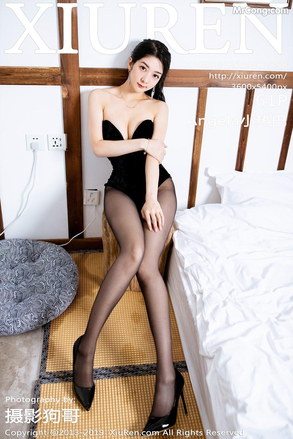 XIUREN No.1858: Xiao Reba (Angela 小 热 巴) (62 pictures)