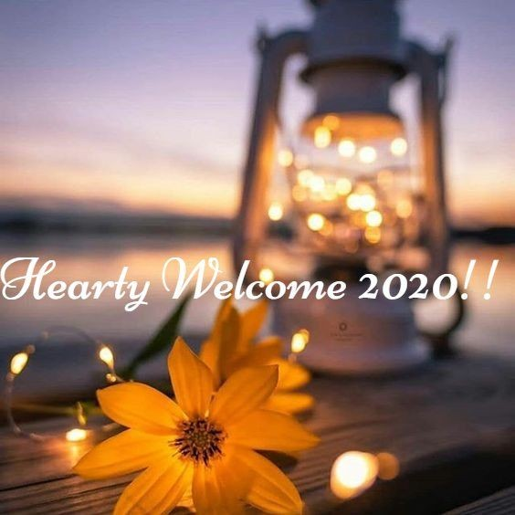 Hearty welcome happy new year 🎉🎈🎉 2020 share with your lovely friends