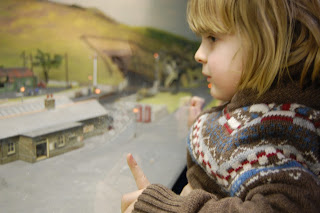 The powers of model trains to keep children enthralled.