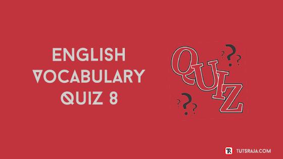 English Vocabulary Quiz