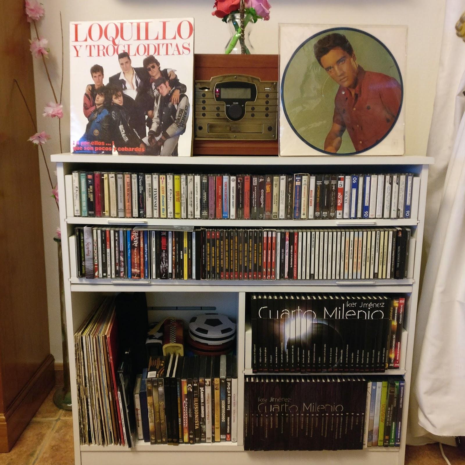 El rincon del mueble mueble para vinilos cd cassete y dvd for Vinilos para muebles de salon